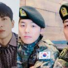 Jung Yong Hwa, Kang Min Hyuk y Lee Jung Shin de CNBLUE muestran su amistad en un reciente encuentro