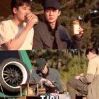 """Sehun de EXO es llevado a una aventura de campamento por Ahn Bo Hyun en vista previa de """"Home Alone"""" (""""I Live Alone"""")"""