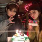 Park Bom recibe mucho amor de las integrantes de 2NE1 en su cumpleaños