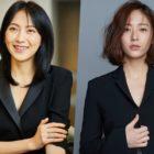 Kang Ji Young recibe apoyo de Krystal de f(x) en el set de su drama