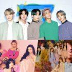 BTS se convierte en el primer artista en recibir la certificación del cuádruple millón de Gaon; Red Velvet, IZ*ONE + Más reciben platino