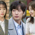 """Lee Min Jung no puede evitar mirar a Lee Sang Yeob y Son Sung Yoon en """"Once Again"""""""