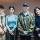 Kim Soo Hyun, Seo Ye Ji y más asisten a la primera lectura de guión para el próximo drama romántico de tvN