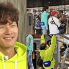 """Kim Jong Kook brilla mientras """"Running Man"""" va al gimnasio a celebrar su cumpleaños"""