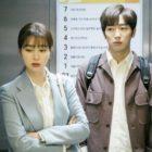 """Lee Min Jung y Lee Sang Yeob tienen un encuentro incómodo en el hospital en medio de las noticias de su divorcio en """"Once Again"""""""