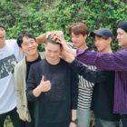 Miembros de EXO se despiden del líder Suho en su alistamiento militar