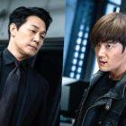 "Park Sung Woong y Choi Jin Hyuk se preparan para enfrentarse en la batalla final en ""Rugal"""