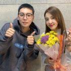 Sandara Park agradece a Kim Jin Woo de WINNER el apoyo a su musical