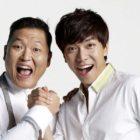 PSY comparte foto antigua + recuerdo cariñoso de la producción de la canción debut de Lee Seung Gi