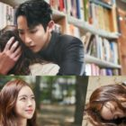 """Lee Soo Hyuk abraza a Jin Se Yeon mientras es atraída hacia un grave peligro en """"Born Again"""""""