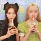 Joy de Red Velvet y Yerin de GFRIEND combinan como gemelas mientras muestran su amistad en fotos