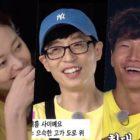 """El elenco de """"Running Man"""" lee historias sobre los ex novios de Jun So Min, el primer beso de Yoo Jae Suk y más"""
