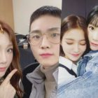 Taeyeon de Girls' Generation está ocupada haciendo pulseras de amistad para Key de SHINee, Yeri de Red Velvet y más