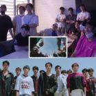 """Los miembros de SEVENTEEN se divierten mientras reaccionan a su propio MV de """"Left & Right"""""""