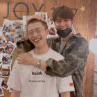 Lee Min Ho comparte foto cariñosa con Woo Do Hwan antes de iniciar el servicio militar
