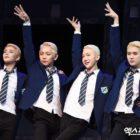 """MJ de ASTRO, Shin Joo Hyup, Jo Kwon de 2AM y Ren de NU'EST hablan sobre audiciones y tacones para el musical """"Jamie"""""""