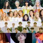 BLACKPINK, TWICE, SEVENTEEN, IU, Suga y Baekhyun lideran listas mensuales + semanales de Gaon