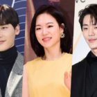 """Lee Jong Suk envía regalo a Han Ye Ri y Shin Jae Ha al set de """"My Unfamiliar Family"""""""