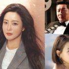 """Kim Hee Sun agradece a Jung Joon Ha y Seo Jeong Yeon por apoyar su nuevo drama """"Alice"""""""