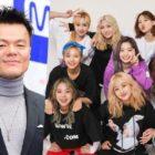 Park Jin Young publica un meme enviado por Jeongyeon sobre él y TWICE + Los artistas actuales y los que ya no están en JYP reaccionan divertidamente