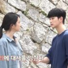"Seo Ye Ji y Kim Soo Hyun lidian con una interrupción sorprendente y divertida mientras filman ""It's Okay To Not Be Okay"""