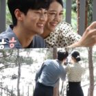 "Kim Soo Hyun y Seo Ye Ji disfrutan tomarse fotos juntos en el set de ""It's Okay To Not Be Okay"""