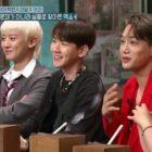 """Chanyeol, Baekhyun y Kai de EXO son cuestionados sobre sus canciones difíciles en """"Amazing Saturday"""""""