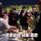 """Song Ji Hyo y SF9 se animan mutuamente mientras graban """"Was It Love?"""""""