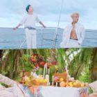"""Ravi de VIXX se alía con su buen amigo Ha Sung Woon para un viaje en el MV de """"Paradise"""""""