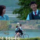 Ji Soo soporta una dura filmación para una idílica escena de paseo en bicicleta con Im Soo Hyang en nuevo drama