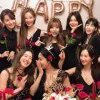 """Las miembros de Girls' Generation muestran su apoyo por Hyoyeon y se divierten haciendo el reto de baile """"Dessert"""""""