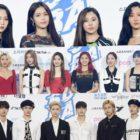 Los ídolos brillan en la alfombra azul para los 2020 Soribada Best K-Music Awards