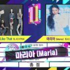 """Hwasa de MAMAMOO se lleva la cuarta victoria con """"Maria"""" en """"Music Bank""""; Actuaciones de Kang Daniel, (G)I-DLE, Cherry Bullet y más"""