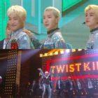 """Jo Kwon, MJ de ASTRO y Shin Joo Hyub realizan una energética presentación con """"Twist King"""" de Turbo en """"Immortal Songs"""""""