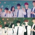 """Park Ji Hoon, Lee Ruby y más se sincronizan a la perfección con el webtoon original de """"Love Revolution"""" en teaser y póster"""