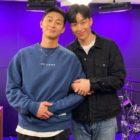 Park Seo Joon y Peakboy muestran una química especial mientras hablan sobre su cercana amistad