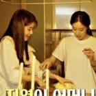 """IU y Jiyeon de T-ara cocinan y discuten adorablemente en nueva vista previa de """"On And Off"""""""