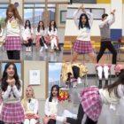 """Integrantes de grupos de chicas muestran sus poderosas, cómicas y sincronizadas habilidades de baile en """"Ask Us Anything"""""""