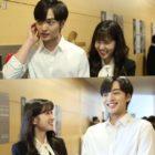 """Kim Min Jae nunca falla en hacer reír a Park Eun Bin en detrás de cámaras para """"Do You Like Brahms?"""""""