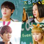 """Park Ji Hoon, Lee Ruby, Younghoon, Dayoung y más, usan adorables diademas para festival escolar en """"Love Revolution"""""""