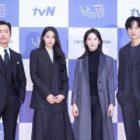 """Namgoong Min, Seolhyun de AOA, Lee Chung Ah y Yoon Sun Woo comparten cómo se prepararon para próximo drama de misterio y asesinato """"Awaken"""""""