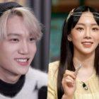 Kai de EXO y Taeyeon de Girls' Generation aparecen en el ranking semanal de miembros de elenco, no dramas, más comentados
