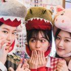 "Moon Ga Young, Park Yoo Na y Kang Min Ah posan juntas de forma adorable en ""True Beauty"""