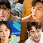 """Suzy, Nam Joo Hyuk, Kim Seon Ho y Kang Han Na muestran sus lados trabajadores y lindos en """"Start-Up"""""""
