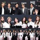 Las estrellas brillan en la alfombra roja de los 2020 Mnet Asian Music Awards