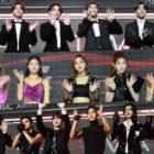 Las estrellas brillan en la alfombra roja de los The Fact Music Awards 2020
