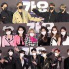 Estrellas son entrevistadas en la alfombra roja de 2020 SBS Gayo Daejeon in Daegu