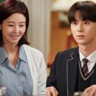 """Song Sun Mi y Minhyun de NU'EST disfrutan de una cena como madre e hijo en """"Live On"""""""