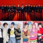 NCT, TXT, BLACKPINK y más encabezan las listas principales mensuales y semanales de Gaon