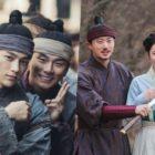 "Kim Myung Soo, Lee Yi Kyung y Kwon Nara no dejan de sonreír en el detrás de cámaras de ""Royal Secret Agent"""